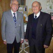 Feier zum 90. Geburtstag von Johann Schuler
