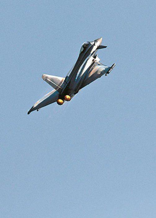 Eurofighter-Start in Zeltweg: Prüfungen laufen. Foto: APA