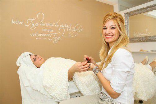 Ex-Miss-Vorarlberg Claudia Preite eröffnete im Dezember ihr neues Kosmetikstudio in Bludenz. Fotos: VN/Hofmeister