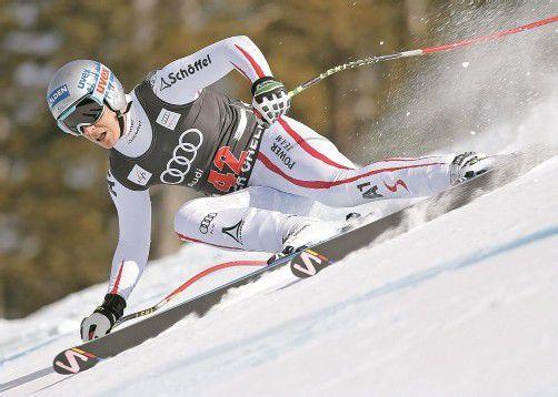 Florian Scheiber überraschte in Beaver Creek – auf Platz vier war er der beste Österreicher. Foto: apa