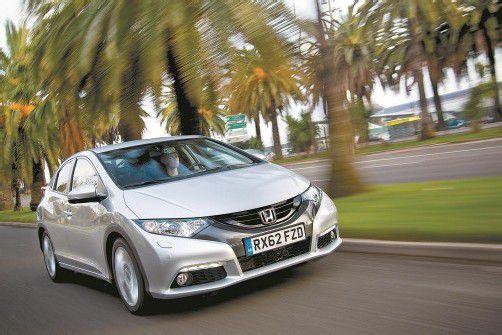 Für Europa entwickelt, in Europa gebaut: Der kleine Diesel im Honda Civic wird in England gefertigt. Fotos: werk