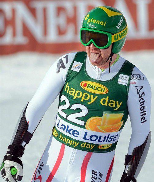 Für die ÖSV-Speed-Spezialisten Klaus Kröll und Co. lief die Saison bisher enttäuschend. Foto: EPA/MIKE STURK