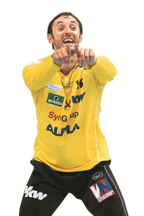 Hard-Goalie Golub Doknic. Foto: steurer