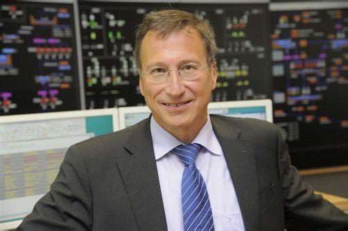 Helmut Mennel folgt im Juli 2013 Ludwig Summer als Vorstand in die Geschäftsleitung der Illwerke VKW. Foto: illwerke-VKW