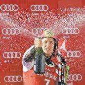 Hirscher mit erstem Herren-Erfolg Sieg im Val-dIsère-Riesentorlauf /c1