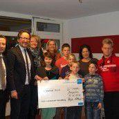 Hypo spendet jährlich an SOS-Kinderdorf