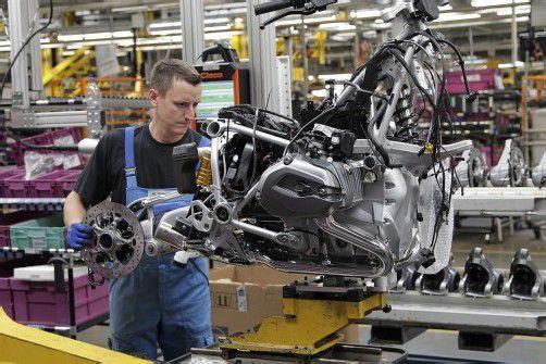 Im BMW-Motorradwerk sind die Weichen für die Zukunft gestellt.