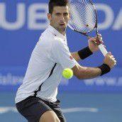 Djokovic in Abu Dhabi im Finale gegen Almagro