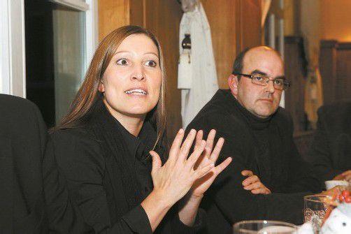 Im November 2011 kämpften Astrid Breuß und Thomas Steurer noch gemeinsam für bessere Bedingungen in der Pflege. Foto: VN/steurer