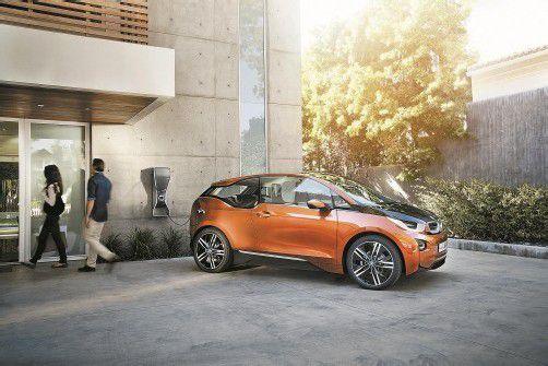 Im Oktober 2013 bringt BMW mit dem i3 (Bild) sein erstes Elektro-Auto auf den Markt. Fotos: bmw