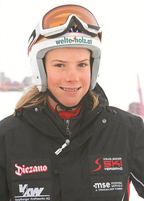Im Training gut in Form: Katharina Liensberger. Foto: Shourot