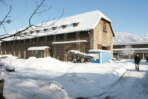 Im ehemaligen Baumwolllager im Frastanzer Ganahl-Areal werden künftig alte Feuerwehrfahrzeuge ausgestellt. Foto: Amp