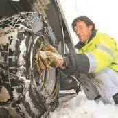 Trotz Schnee-Chaos wenig Verkehrsunfälle