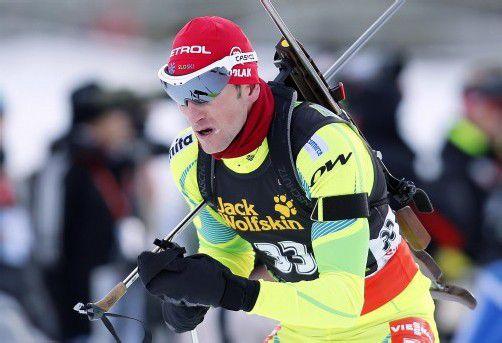 Jakov Fak gewann in Pokljuka sein zweites Saisonrennen. Foto: dapd