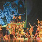 Rund 200 junge Tänzerinnen und Tänzer zauberten afrikanisches Flair ins Bregenzer Festspielhaus