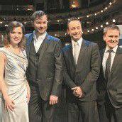 Oliver Arno singt in Wiener Musical