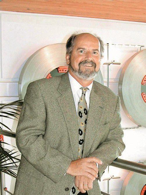 Karl Rüdisser ist mittlerweile seit 37 Jahren in Charlotte (USA) beheimatet. Er leitet dort den Standort der Höchster Beschlägefirma Blum.