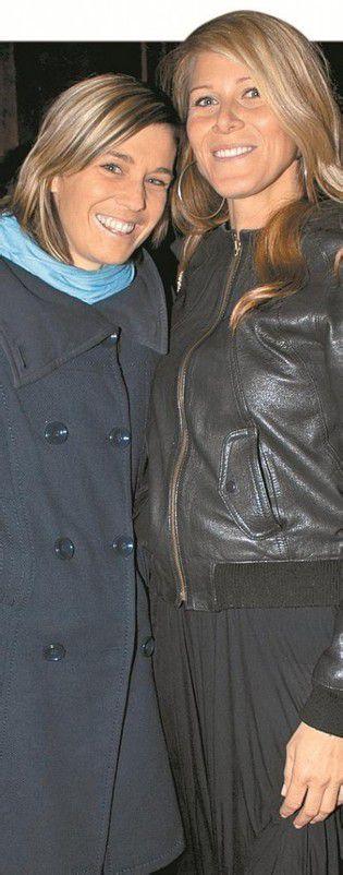 Künstlerinnen unter sich: Ursula Dünser (l.) und Stefanie Lingg.