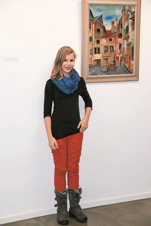 Laura Wehinger ist zwölf Jahre alt und lebt in Wolfurt.
