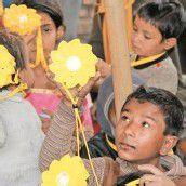 Kleine Sonnen für Kinder im Flüchtlingslager