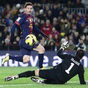 Gerd Müllers Torrekord durch Messi in Gefahr