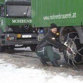 Schnee hält Winterdienst auf Trab