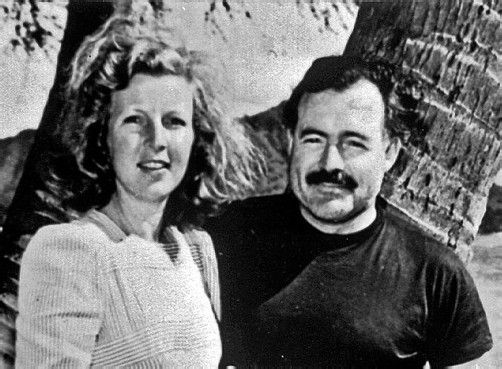 Martha Gellhorn und Ernest Hemingway Foto: APA