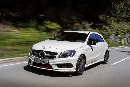 Mercedes kann sich über neue Absatzrekorde freuen. Foto: Werk