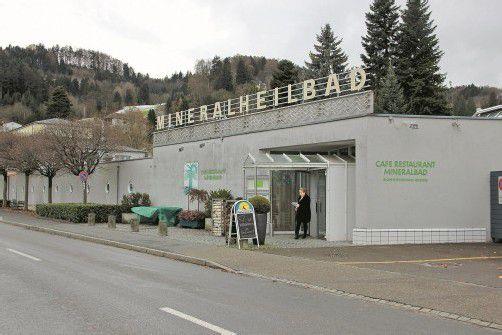 Mineralheilbad St. Margrethen schließt voraussichtlich aus wirtschaftlichen Gründen. Foto: VN/bem