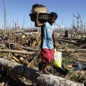 Mehr als 1000 Todesopfer durch den Taifun Bopha
