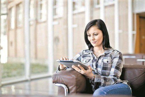 Mit den Online-Services können Daten zum Stromvertrag komfortabel abgerufen werden. Foto: illwerke Vkw