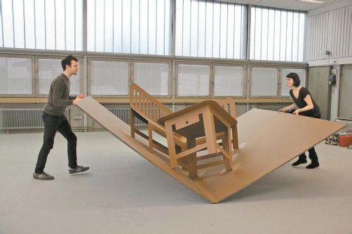 Mobile Heimeligkeit will das in Wien lebende Künstlerpaar mit dem Projekt darstellen. Foto: A. Grabher