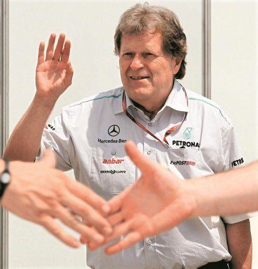 Nach 22 Jahren geht die Ärä des 60-jährigen Norbert Haug bei Mercedes zu Ende. Foto: apa
