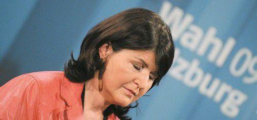 Nach der Landtagswahl 2009 beklagte Burgstaller SPÖ-Verluste. Im kommenden Jahr drohen diese noch größer zu werden. Foto: APA