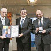 Nobelpreis soll die EU stärken