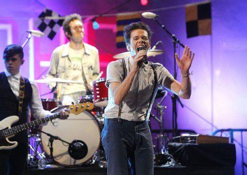 """Nate Ruess, Andrew Dost und Jack Antonoff von """"Fun"""" gelten neben Kanye West und Frank Ocean als aussichtsreichste Grammy-Kandidaten."""
