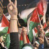 Abbas-Anhänger jubeln