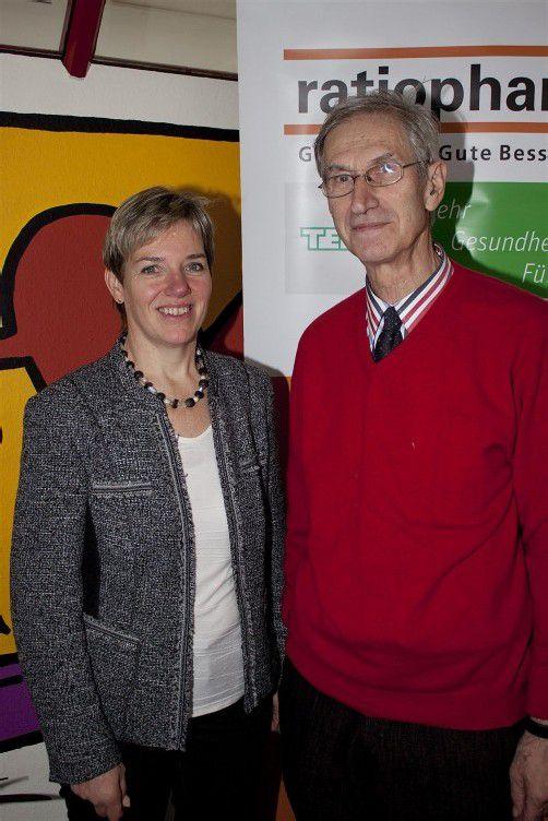 Pastoralassistentin Nora Bösch mit Seelsorger Elmar Simma.