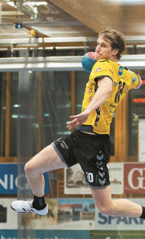 "Povilas ""Paul"" Babarskas hält bei 57 Saisontreffern. Foto: steurer"