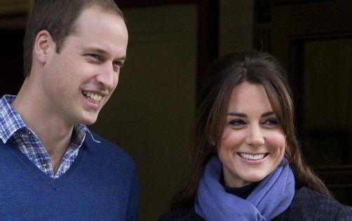 Prinz William und Kate werden Eltern: Einzig diese Prognose hat sich bewahrheitet. Foto: dapd
