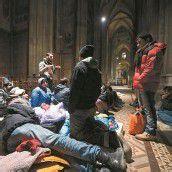 Asylwerber besetzen Wiener Votivkirche