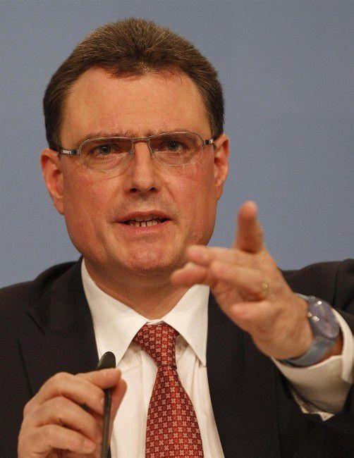 Schweizer Nationalbank Chef Thomas Jordan. Foto: Reuters
