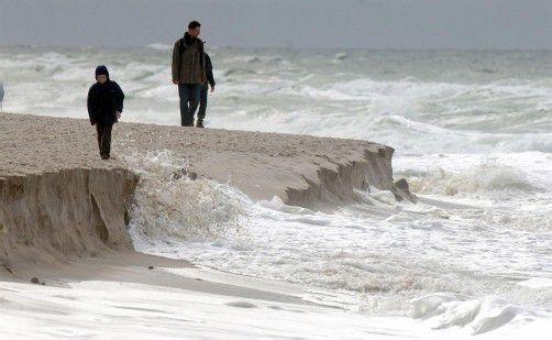 Seit beginn der 1990er-Jahre soll der Meeresspiegel durchschnittlich um 3,2 Millimeter pro Jahr gestiegen sein. Foto: DPA