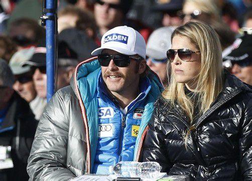Skistar Bode Miller mit Ehefrau Morgan Beck. Foto: reuters