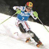 Hirscher im Slalom in eigener Liga