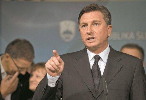 Sloweniens künftiger Präsident Borut Pahor. Foto: DAPD