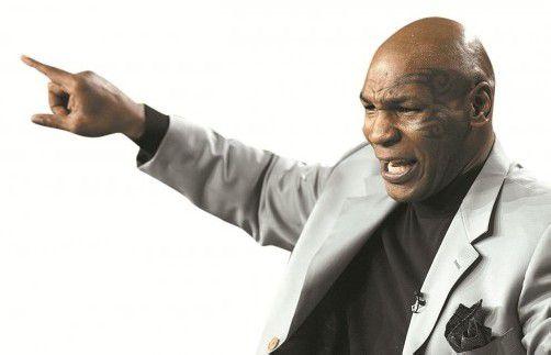 Streit mit Mike Tyson? Das wünscht sich wohl keiner.