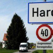 In Hard wird Tempolimit 40 eingehalten