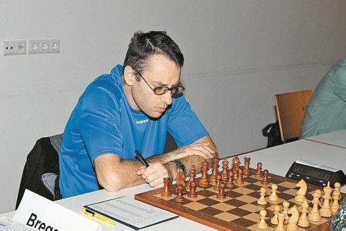 Tervel Serafimov (Bregenz) holte in Rum 2,5 Punkte. Foto: schwämmle