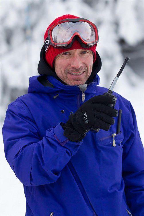 Tom Kuster organisiert seit 1996 die Freeride-Safety-Camps für Skifahrer und Snowboarder. Foto: vn/Steurer